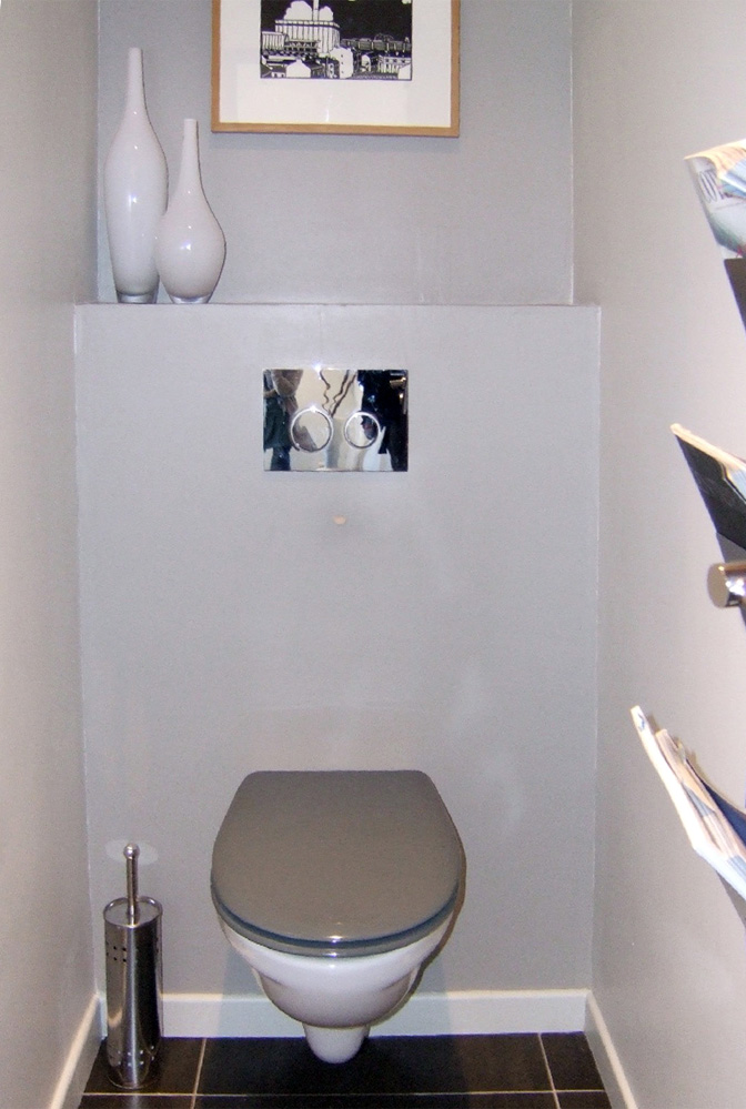 déco toilettes etroit