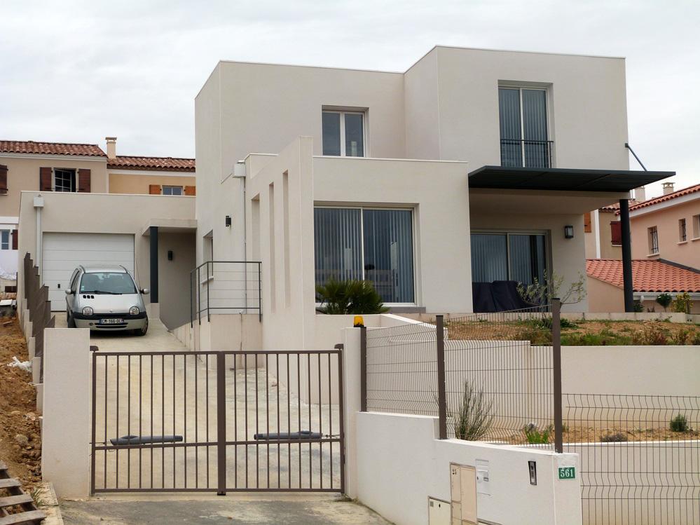 Les facades des villas modernes gascity for for Les facades des villas modernes