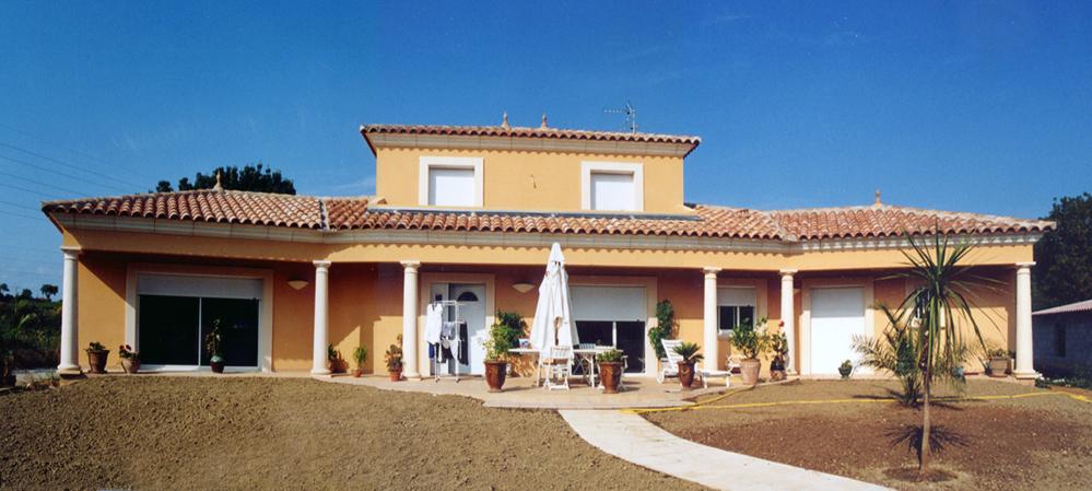 atelier d 39 architecture ban gas villas villas traditionnelles exemples de villas. Black Bedroom Furniture Sets. Home Design Ideas