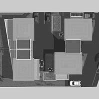 Plan masse des villas.<br />