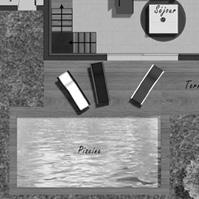 Plan de vente villa 1 type 4.<br />