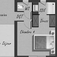 Plan de vente villa 3 type 4.<br />