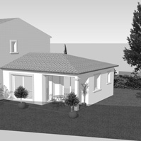Perspective maison 1.<br />