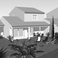 Perspective maison 3.<br />