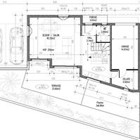 Plan de vente : rez de chaussée villa 1 de type 4.<br />