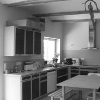 Photos avant / après de la cuisine.<br />