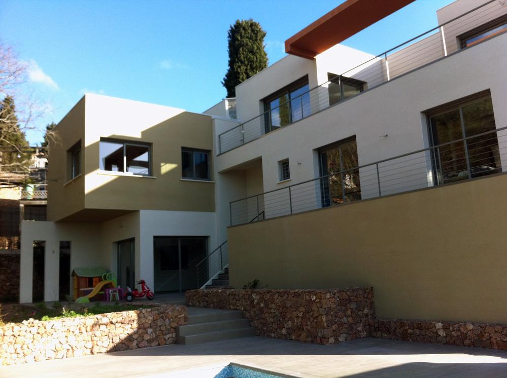 atelier d 39 architecture ban gas villas villa 355 construction d 39 une maison individuelle. Black Bedroom Furniture Sets. Home Design Ideas