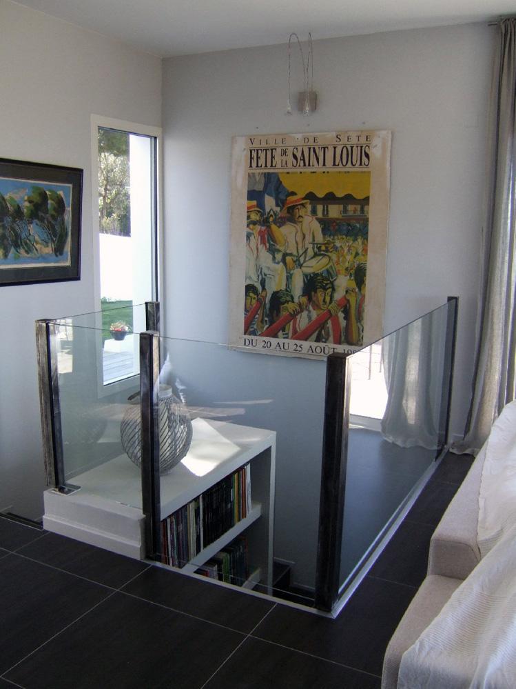 atelier d 39 architecture ban gas villas villa 360 construction d 39 une maison individuelle. Black Bedroom Furniture Sets. Home Design Ideas