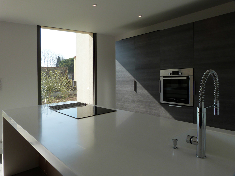 atelier d 39 architecture ban gas villas villa cm villa contemporaine lav rune 34 880 h rault. Black Bedroom Furniture Sets. Home Design Ideas