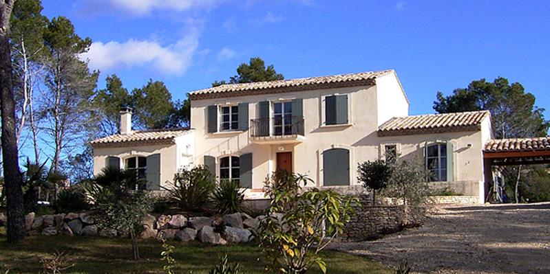 Atelier d 39 architecture ban gas villas villas for Villa traditionnelle